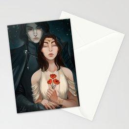 Reylo Hades persephone Stationery Cards