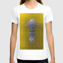 Industrial Arrow Tread Plate - Up T-shirt