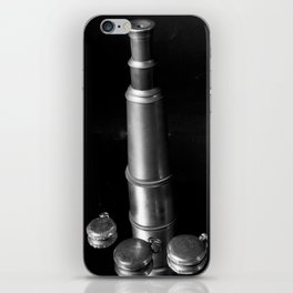 Vintage Reflections (Telescope & Pocket Watch) iPhone Skin