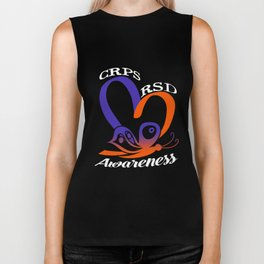 RSD CRPS Awareness T-Shirt Support Month Gift Apparel Tee Biker Tank