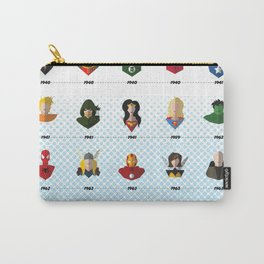 Superhero Timeline Carry-All Pouch