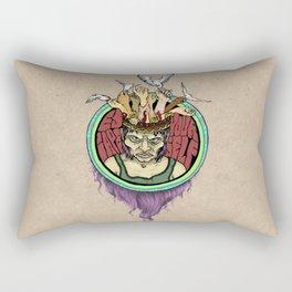 Escape Yourself Rectangular Pillow