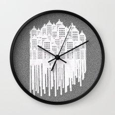 Paper City Wall Clock