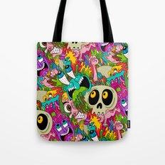 Puke Pattern Tote Bag