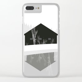 winter hope Clear iPhone Case