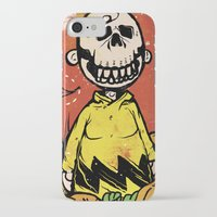 charlie brown iPhone & iPod Cases featuring Charlie Brown - The Original Pumpkin King by Neil McKinney