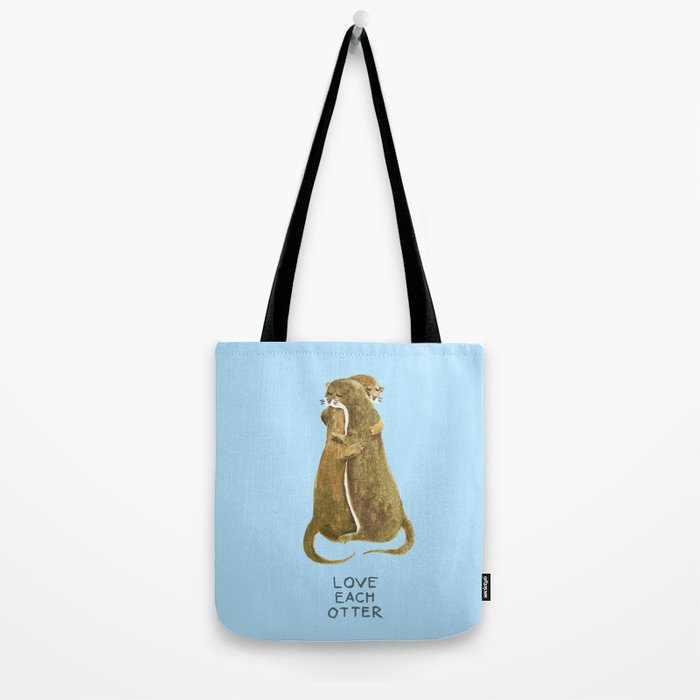 Love each otter Tote Bag