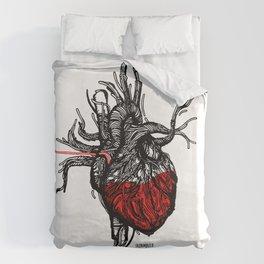 Wired Heart Duvet Cover