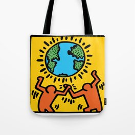 Homage to Keith Haring Tote Bag