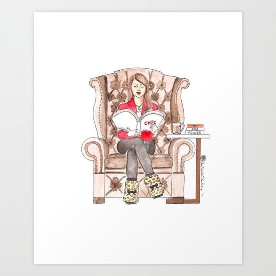 Art of Chic Art Print