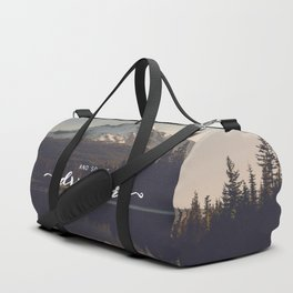 Trillium Adventure Begins - Nature Photography Duffle Bag