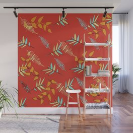 A Glimpse of Autumn Feelings Wall Mural