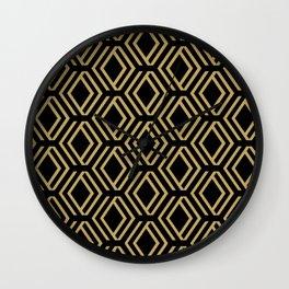 Art Decó Wall Clock