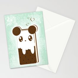 Ice Cream Sandwich Stationery Cards