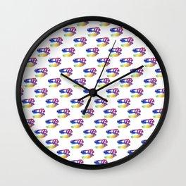 T-Rex Pattern Design Wall Clock