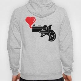 Pistol Blowing Bubbles of Love Hoody