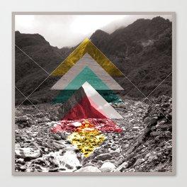 Sojourn series - Fox Glacier  Canvas Print