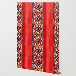 Fethiye  Antique Turkish Kilim Camel Trapping Wallpaper