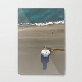 Surf Rescue - Poste de secours Metal Print