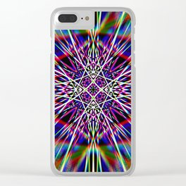 Spacing Out Clear iPhone Case