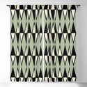 Mid Century Modern Diamond Pattern Sage Green 234 by tonymagner