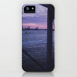 Sunset over the Water iPhone Case