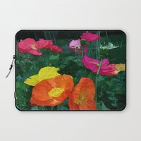 Poppies Two Laptop Sleeve