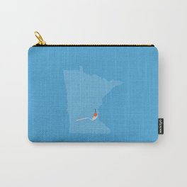Minnesota Spoon and Fruit Carry-All Pouch
