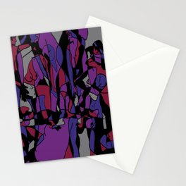 Abstract Nude Stationery Cards