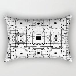 Circuit Rectangular Pillow