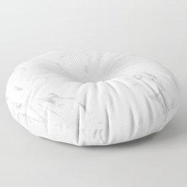 Light grey marble Floor Pillow