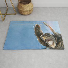 Screaming Turtle Rug