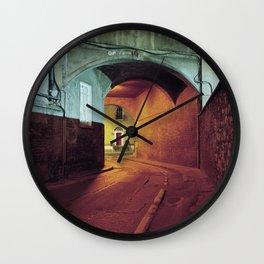 Red Door. Wall Clock