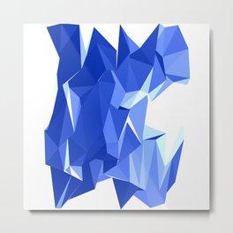 Polygon Seven Metal Print