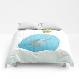 swimming bottle Comforters