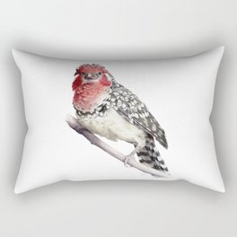 Red-and-yellow Barbet Rectangular Pillow