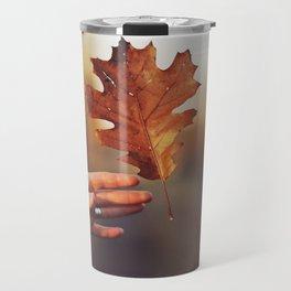 Catching a bit of Autumn Travel Mug