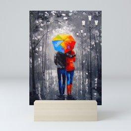 Bright walk Mini Art Print
