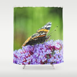 Butterfly V Shower Curtain
