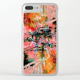Hyperbole Clear iPhone Case