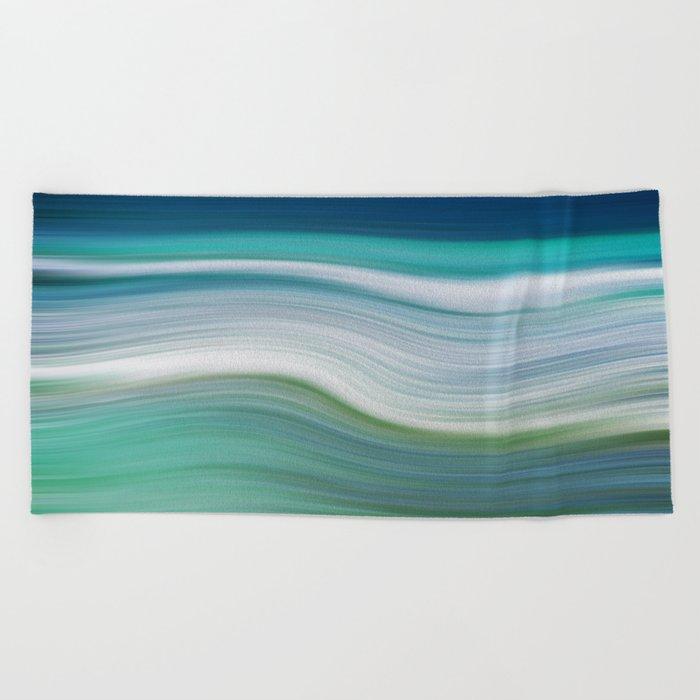 OCEAN ABSTRACT Beach Towel