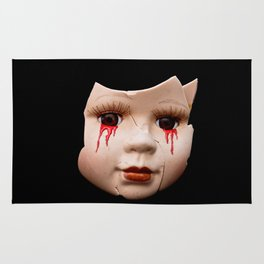 Blood Doll Face II Rug
