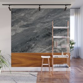 Marble and Wood 3 Wall Mural