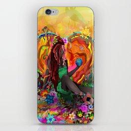 Cherish the Earth iPhone Skin