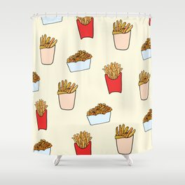 Gimme Fries Shower Curtain