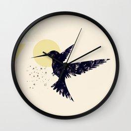 Bird X Wall Clock
