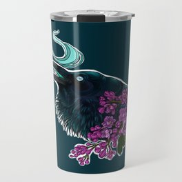 Yennefer's crow Travel Mug