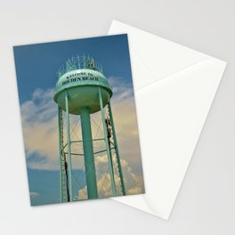 Tower And Clouds Stationery Cards