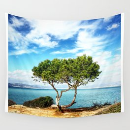 Tree in Focus Wall Tapestry