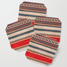 N66 - Classic Oriental Moroccan Style Fabric. Coaster
